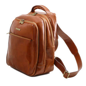 TL141402 Phuket Leather Backpack-Rucksack-Holdall-Bag 3 Compartments 4 Colours