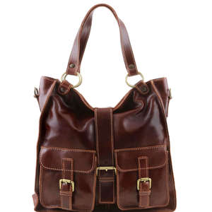 TL140928 Melissa Leather Shoulder-Shopper-Tote-Business-Leisure-Bag in 5 Colours