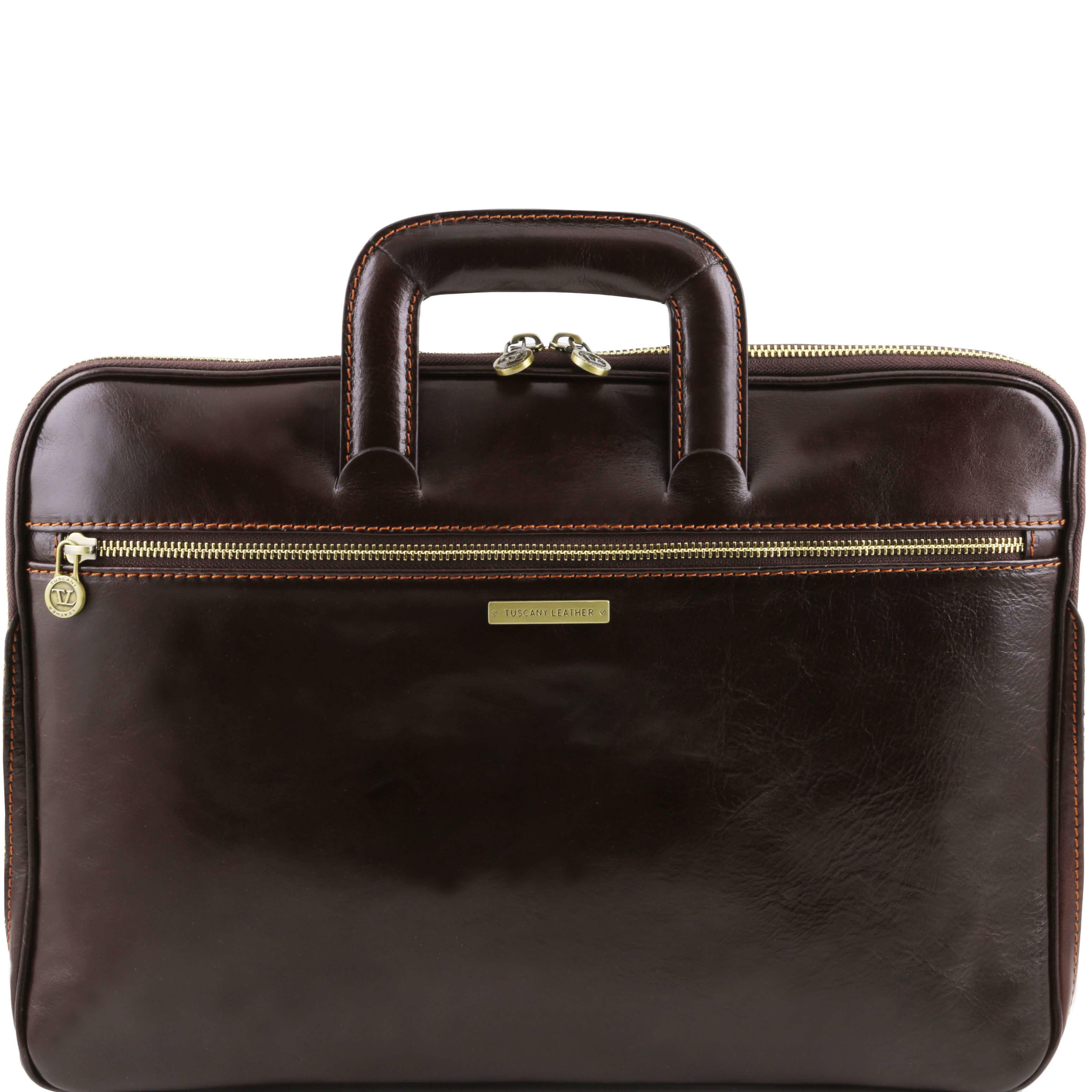 TL141324 Caserta Leather Document-Folio-Briefcase-Bag 5Colours +
