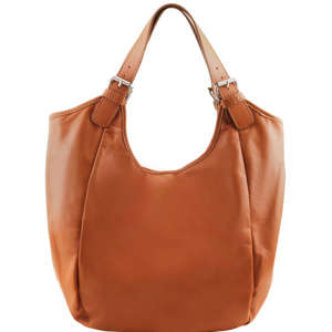 TL141357 Tuscany Leather Gina Classic Hand - Shoulder - Tote - Hobo Bag