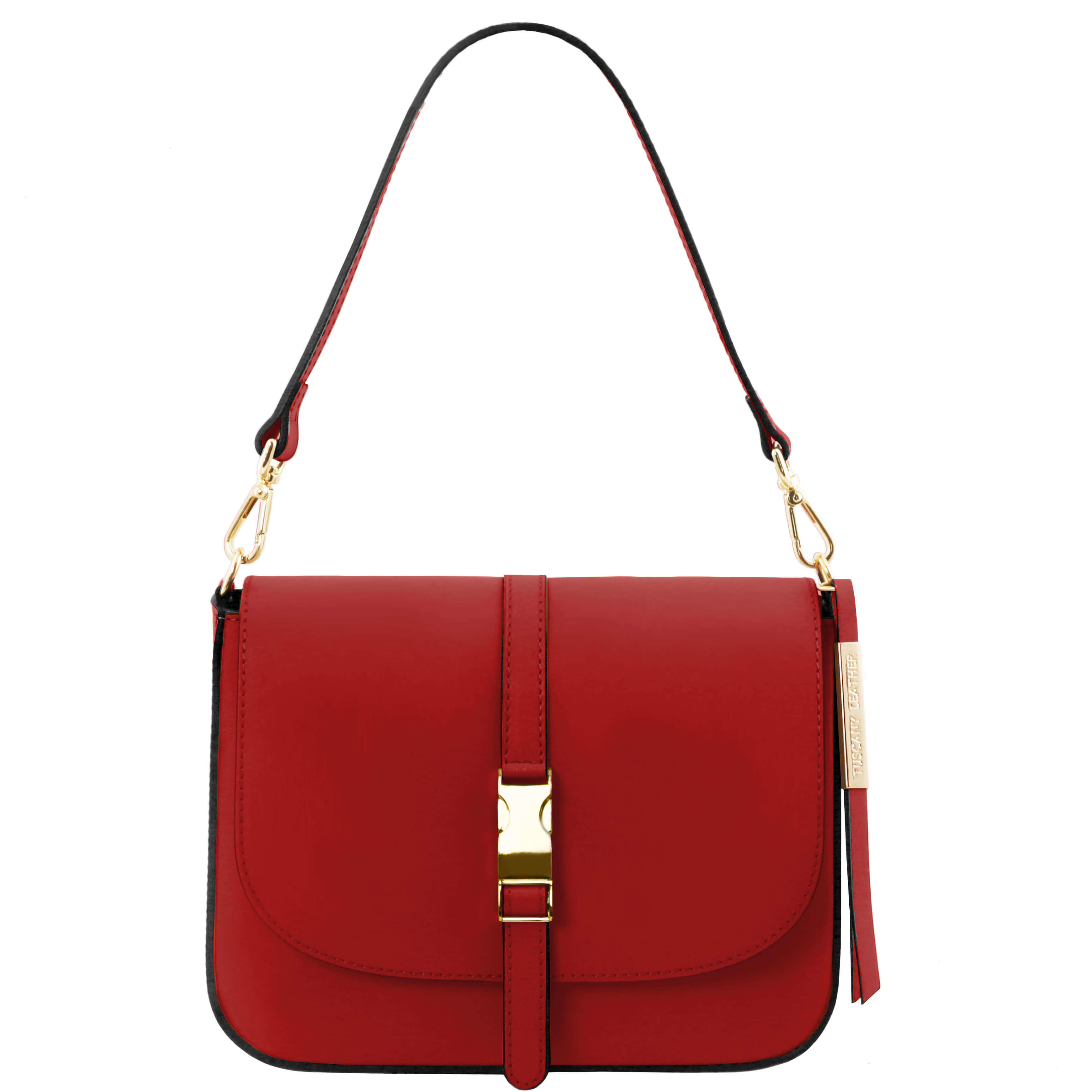 TL141598 Tuscany Leather Nausica Ruga Leather Shoulder Bag