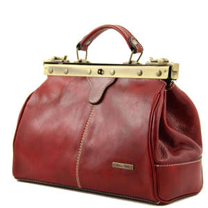 TL10038 Michelangelo Leather Doctors-Gladstone-Handbag+Shoulder