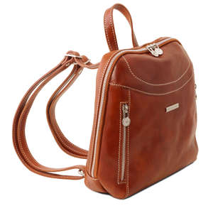 Tuscany Leather Manila Work - Leisure-Hiking-Backpack-Rucksack - Bag 3 Colours