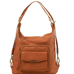 TL141535 Tuscany Leather Convertible Business-Leisure - Shoulder-Backpack-Bag