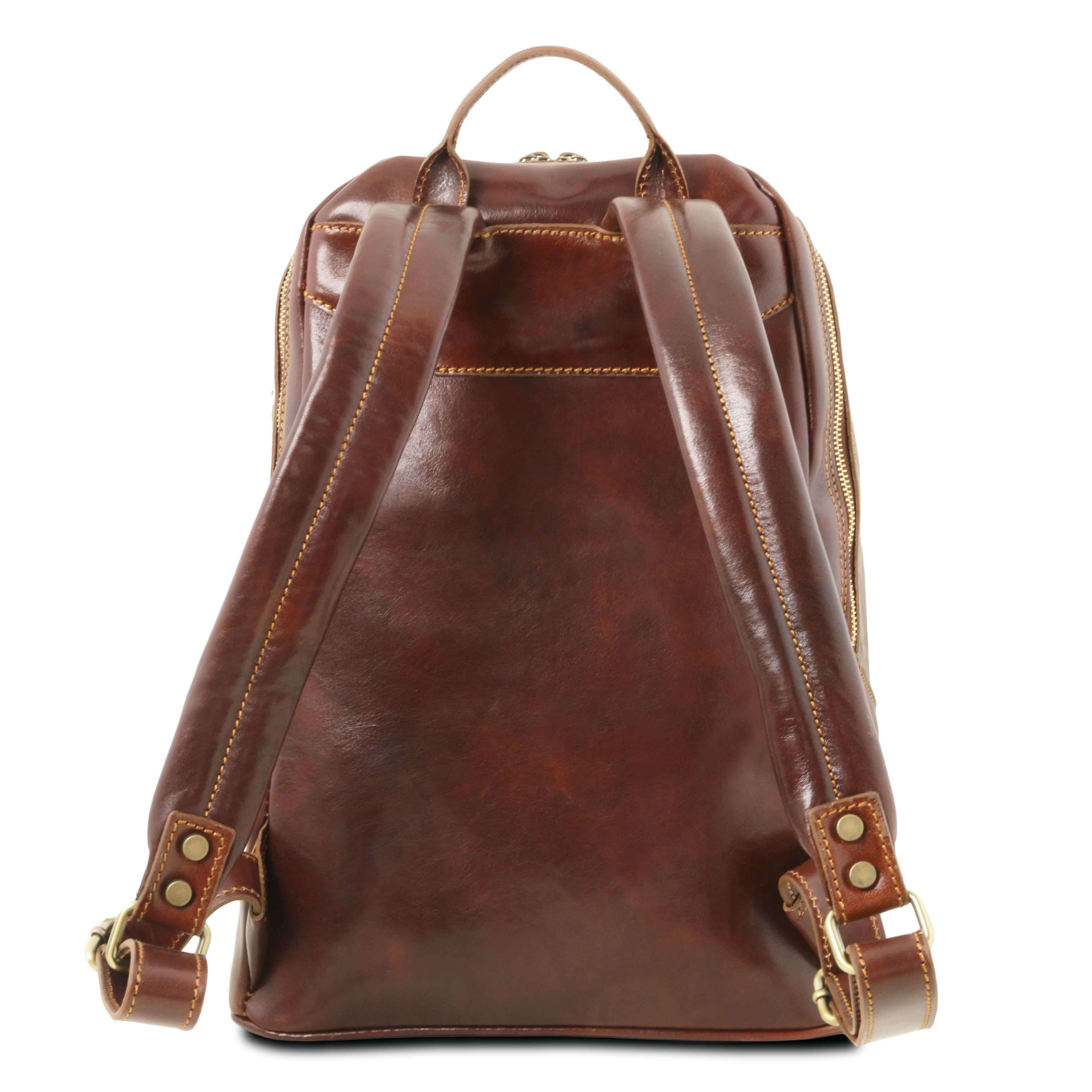 TL141715 Tuscany Leather Mumbai Travel - Hiking - Backpack - Rucksack - Bag