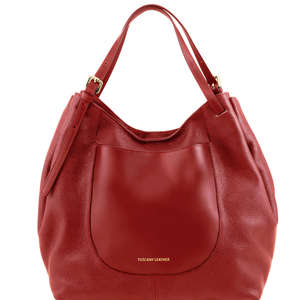 TL141515 Cinzia Soft Leather Shopping Bag By Tuscany Leather