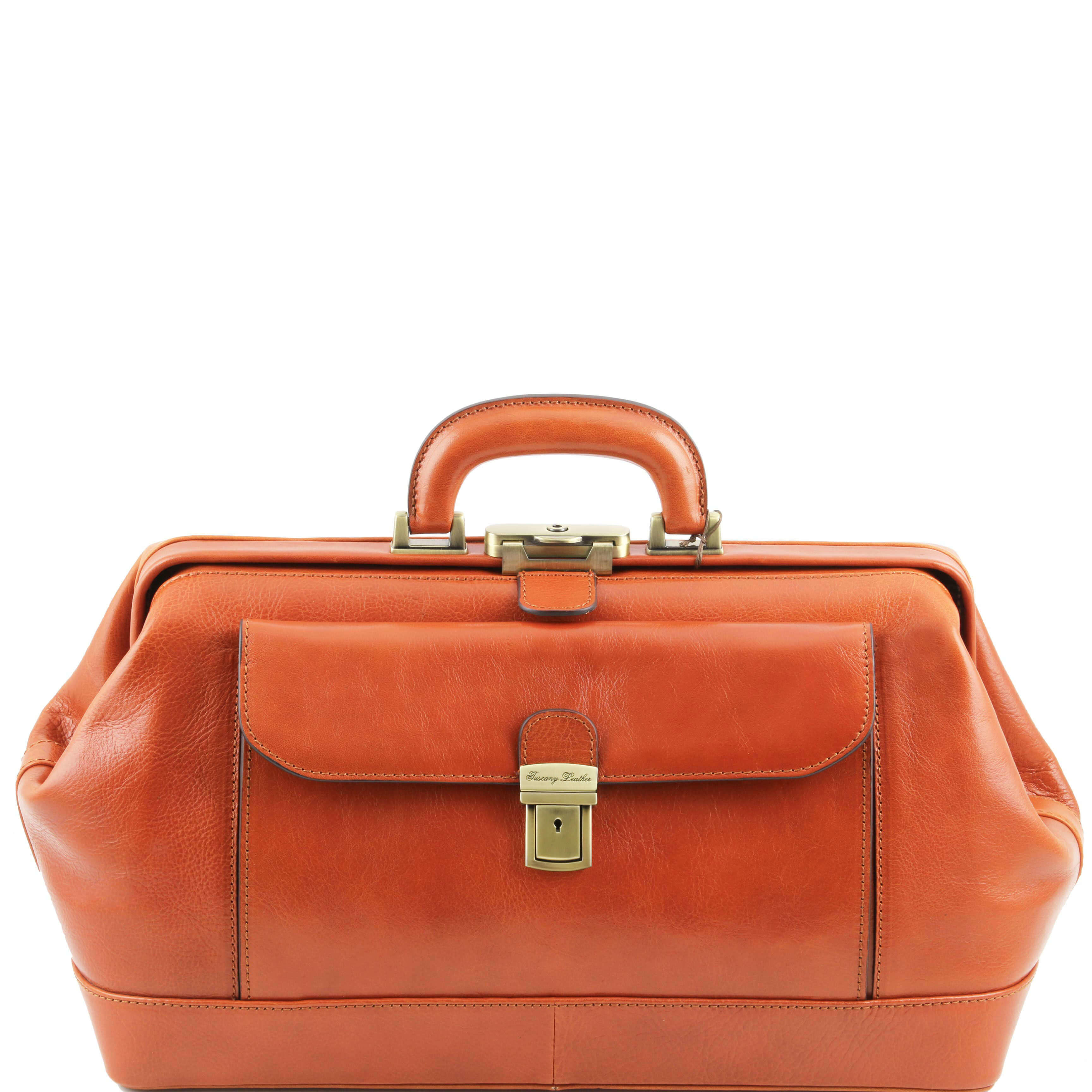 TL141298 Bernini Leather Doctors Bag - Holds iPad's etc - Honey