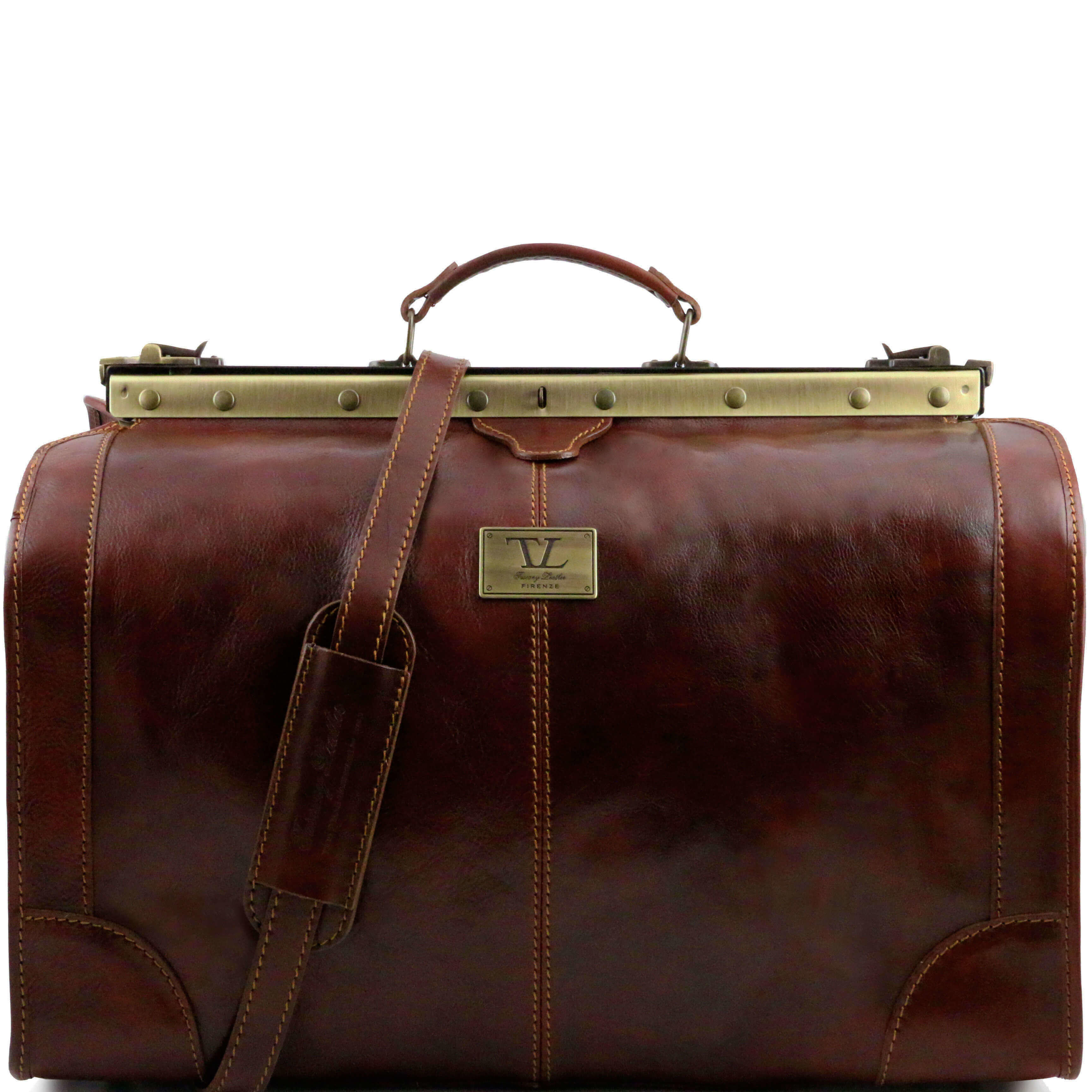 TL1022 Large Madrid Leather GladstoneTravel - Holdall - Luggage