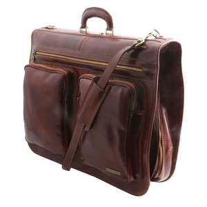 TL3030 Tahiti Leather Suit - Garment Carrier Travel Bag Holdall