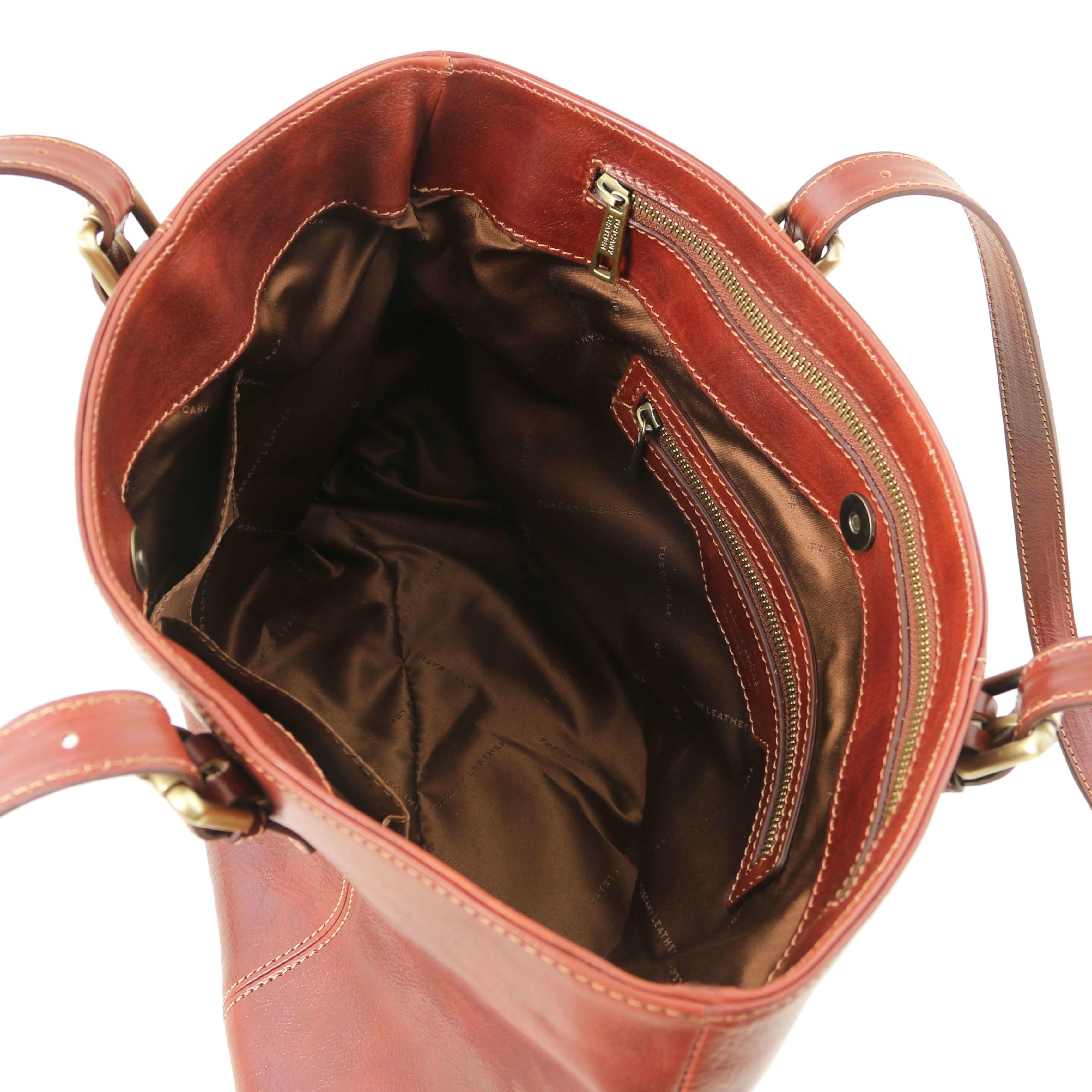 TL141710 Tuscany Leather Shopper - Business Tote Shoulder Bag