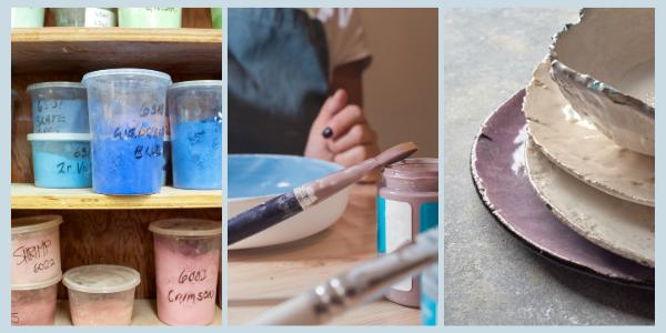 Glazes for pottery. As featured in the article 'Ceramics. A complete Guide' by Eternal Tools