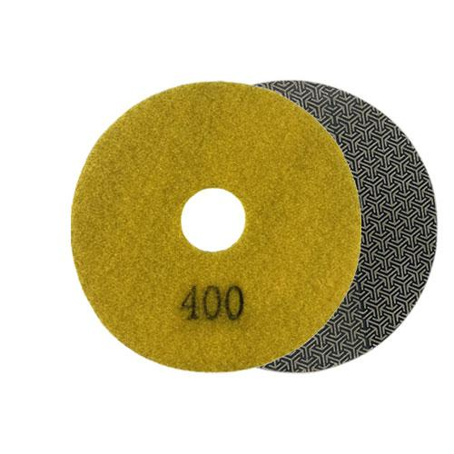 400 grit round diamond pad for grinding and polishing