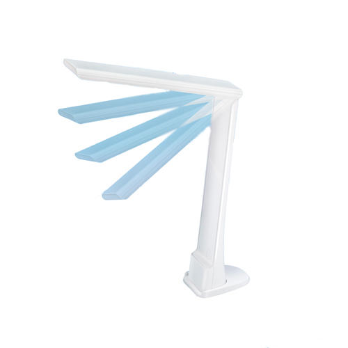 LED folding lamp with dimmer task light and night light