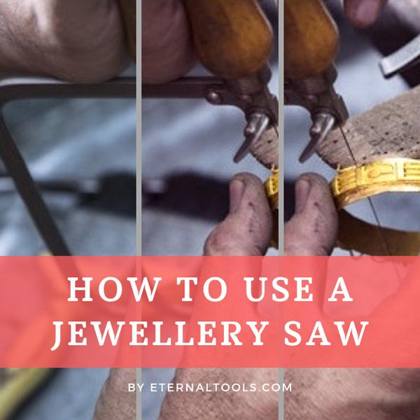 Cutting with a Jewellers Saw by Eternal Tools. How to use a jewellery saw and how to get the best from your blades and make clean, precise cuts in metal