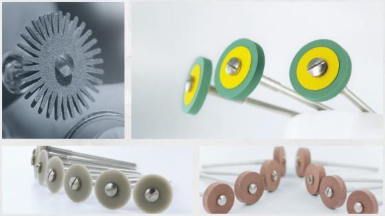 Rotary tools polishers for polishing jade