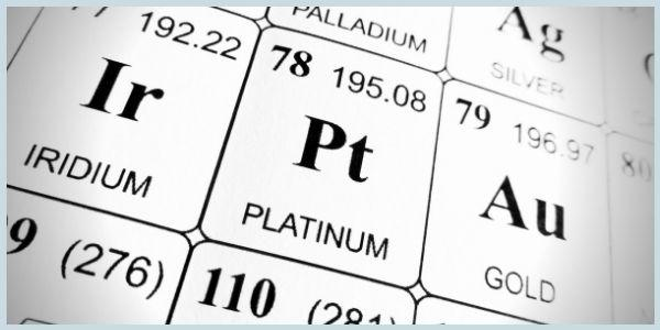 Platinum Pt, A noble Metal