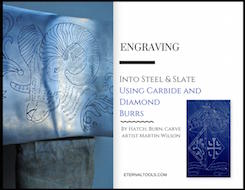 How to Use Carbide and Diamond Ball Burrs to Carve and Engrave Steel and Slate