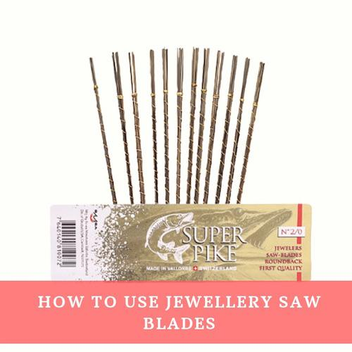 How to use a jewellers saw and jewellery saw blades to cut metal by Eternal Tools