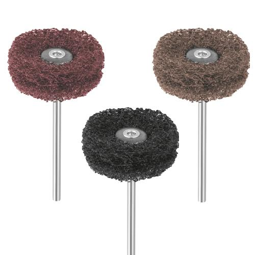 EVE Fiberwheels abrasive fibre buff wheels set