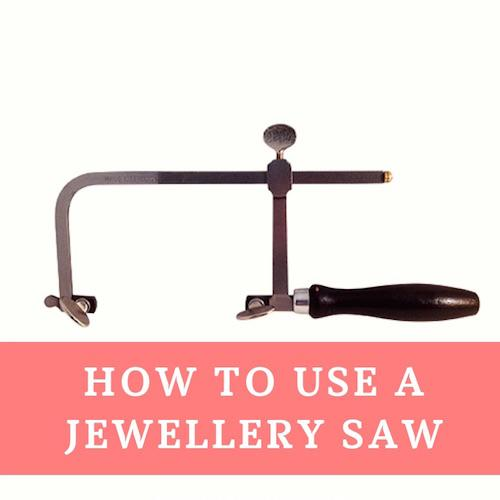 How to use a jewellers piercing saw frame to cut metal by Eternal Toools
