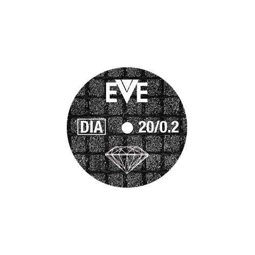 EVE diamond cutting wheels for glass, stone and ceramic
