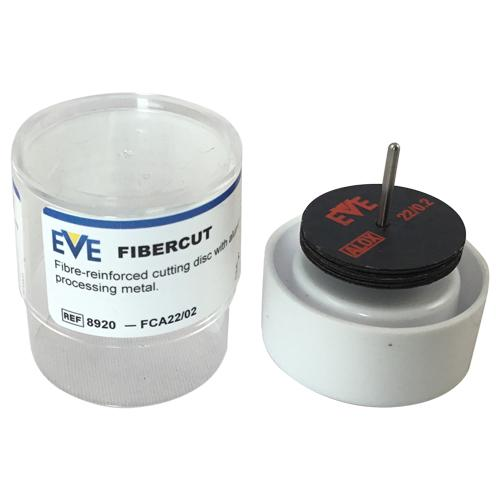 Box of 10 EVE Aluminium oxide Fibercut Cutting Discs for cutting metals