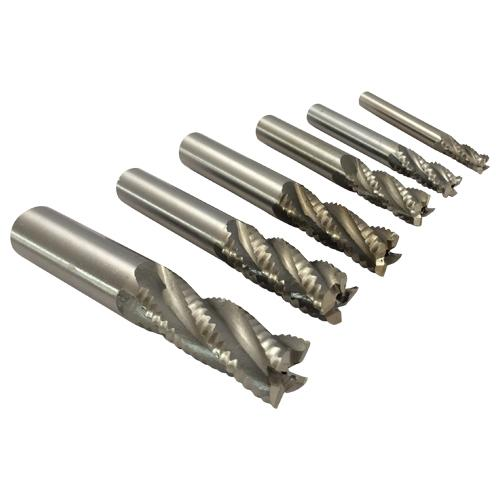 metric end mills roughing HSS