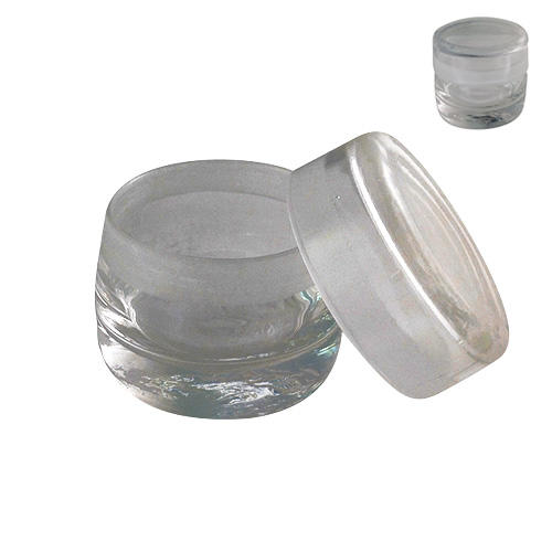 Glass Benzine Cup or Essence Jar 60mm
