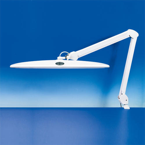 Professional LED bench lamp with dimmer switch