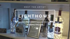 Meet the Artist: Bottle Lamps by Lighthows