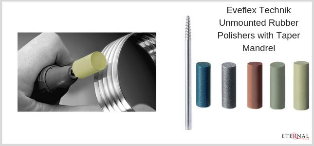 unmounted EVE Eveflex technik polishers for all metals for your Dremel or rotary tool