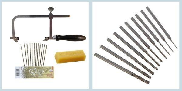 Sawing, cutting and drilling silver by Eternal Tools