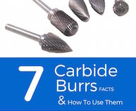 7 Facts About Tungsten Carbide Burrs and How To Use Them