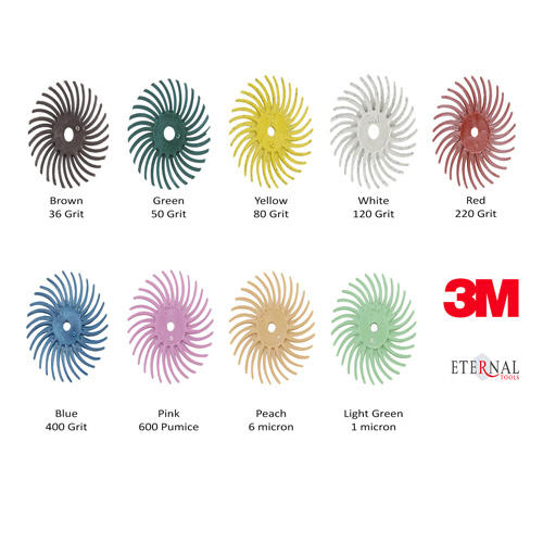 3M Radial Bristle Polishing Discs