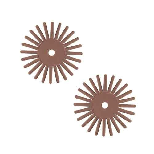 EVEflex Twist radial bristle discs Brown 700#