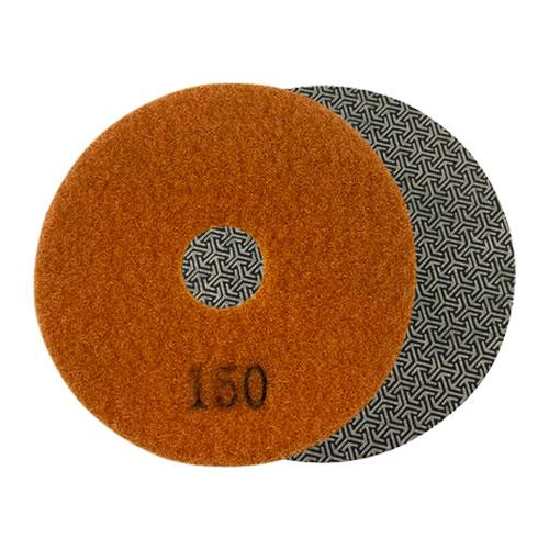 150 grit diamond grinding round pad for angle grinder