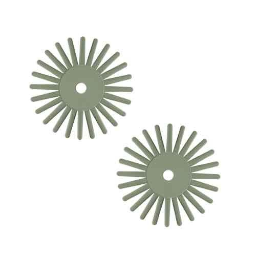 EVEflex Twist radial bristle discs Green 800#