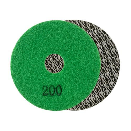 200 grit velcro backed diamond grinding and polishing pad