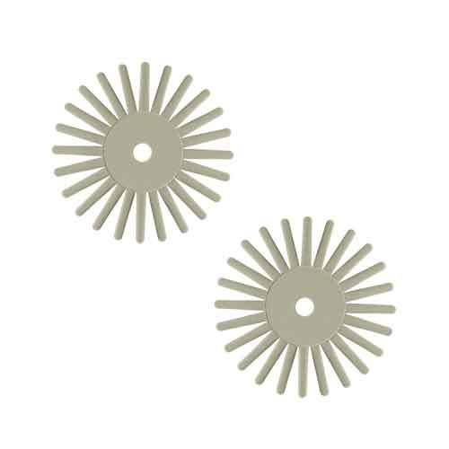 EVEflex Twist radial bristle discs Light Green 900#