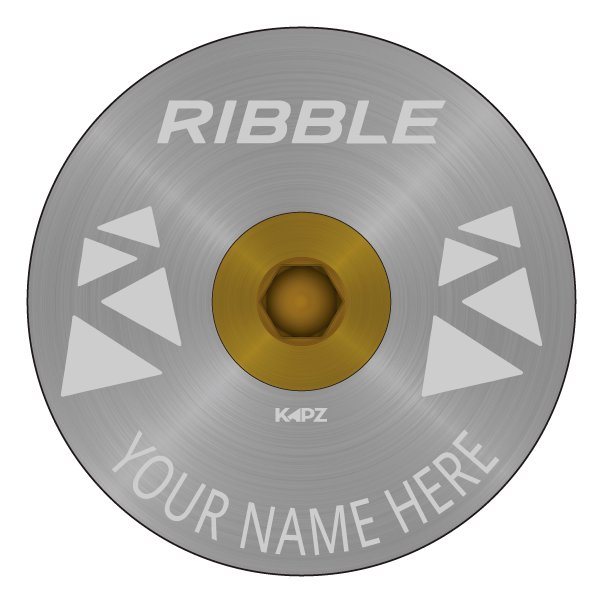 Ribble Carved Headset Cap