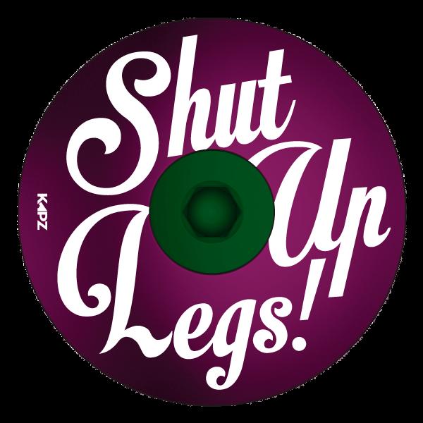 Swirly Shut Up Legs Headset Cap