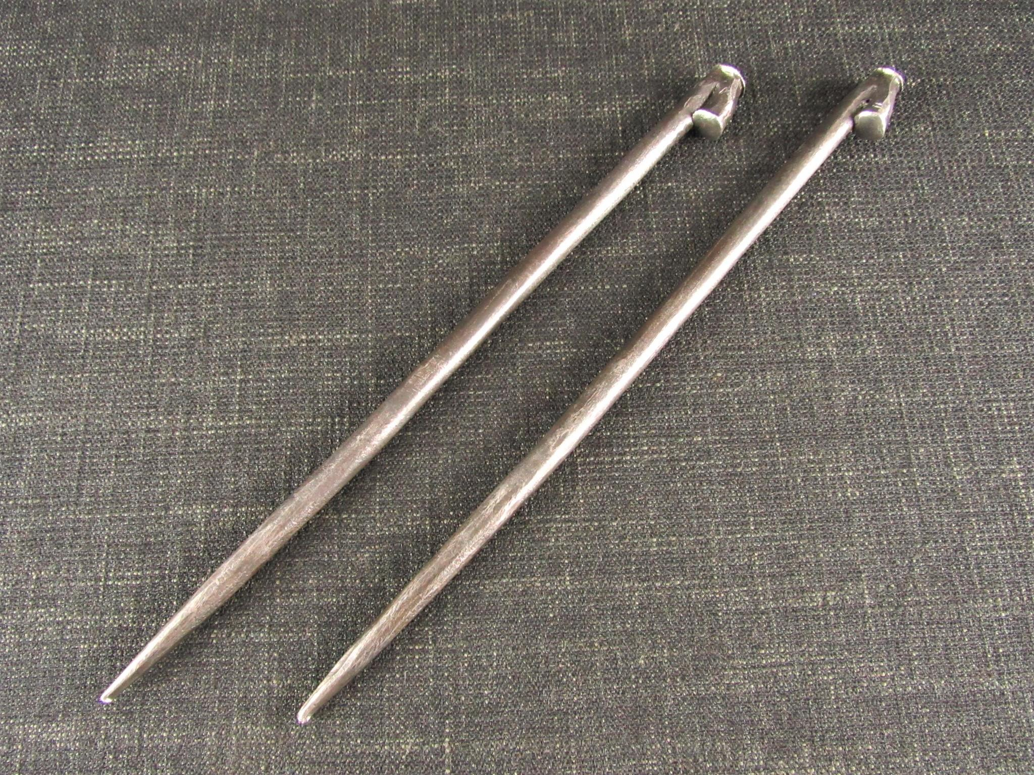 Pair 3/8 inch Drawbore Pins