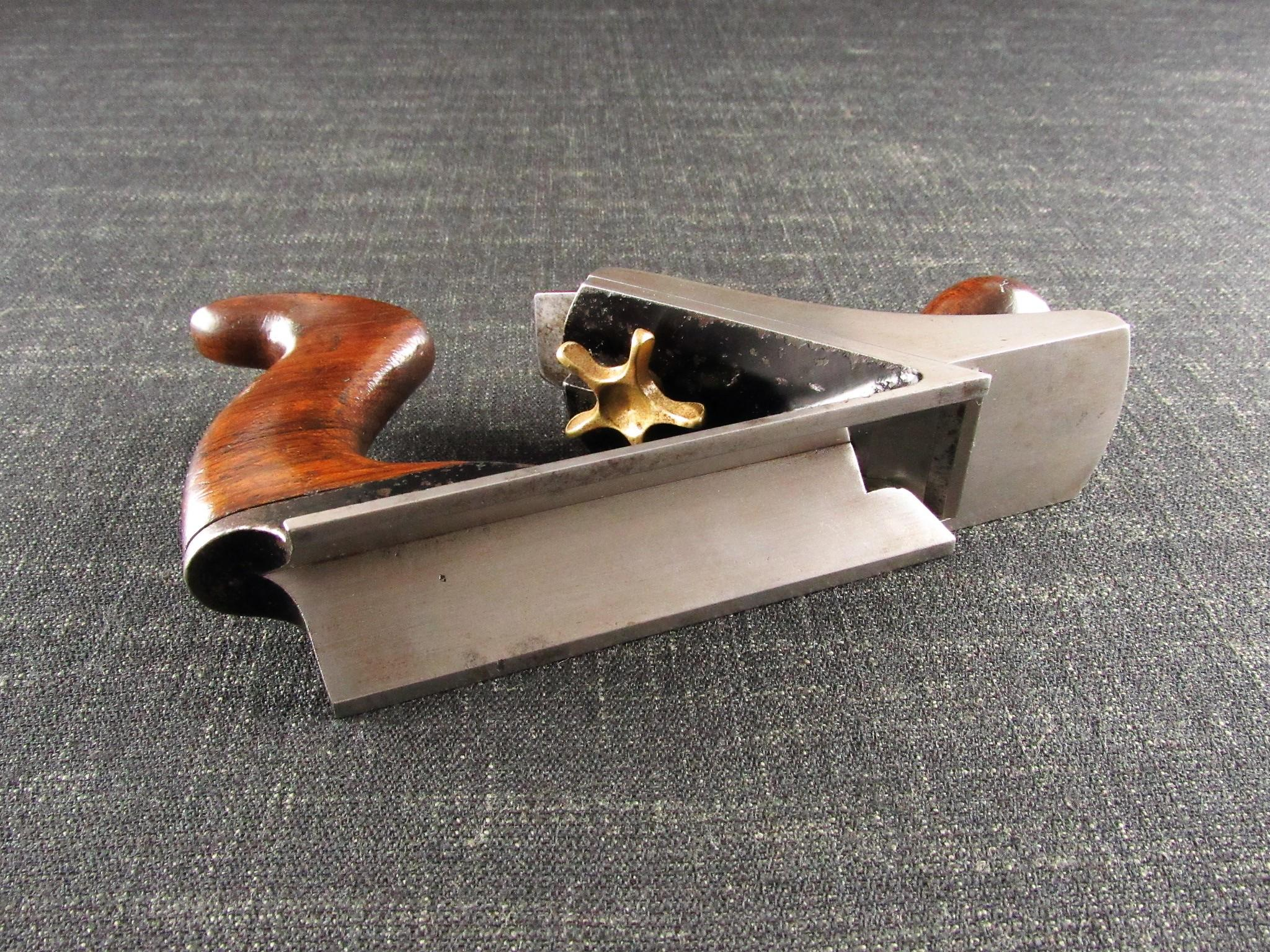 Scarce Early American STANLEY No 72 Chamfer Plane - Type 2