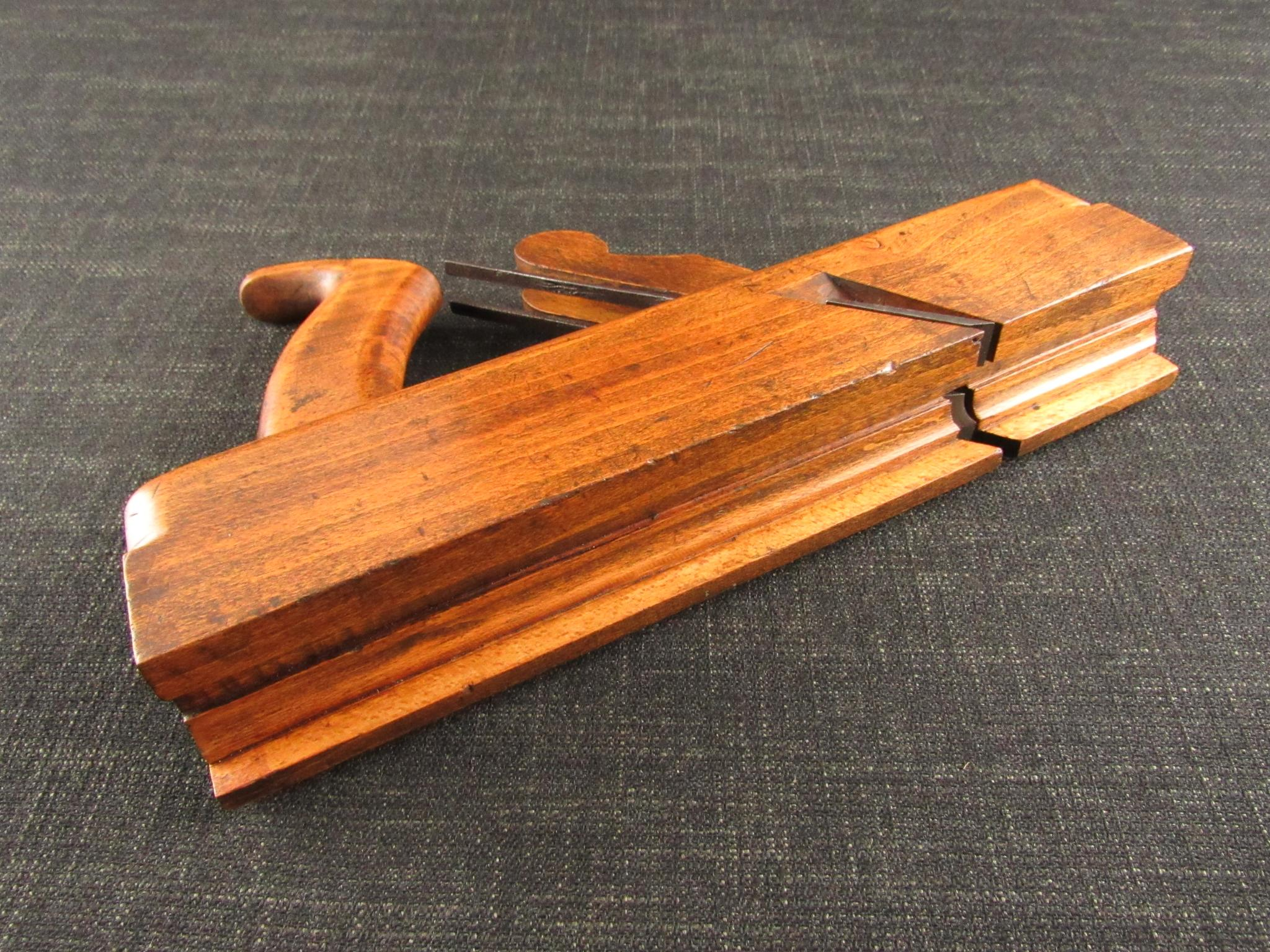 Wonderful Twin Iron Stick & Rebate Plane by KENNERLEY