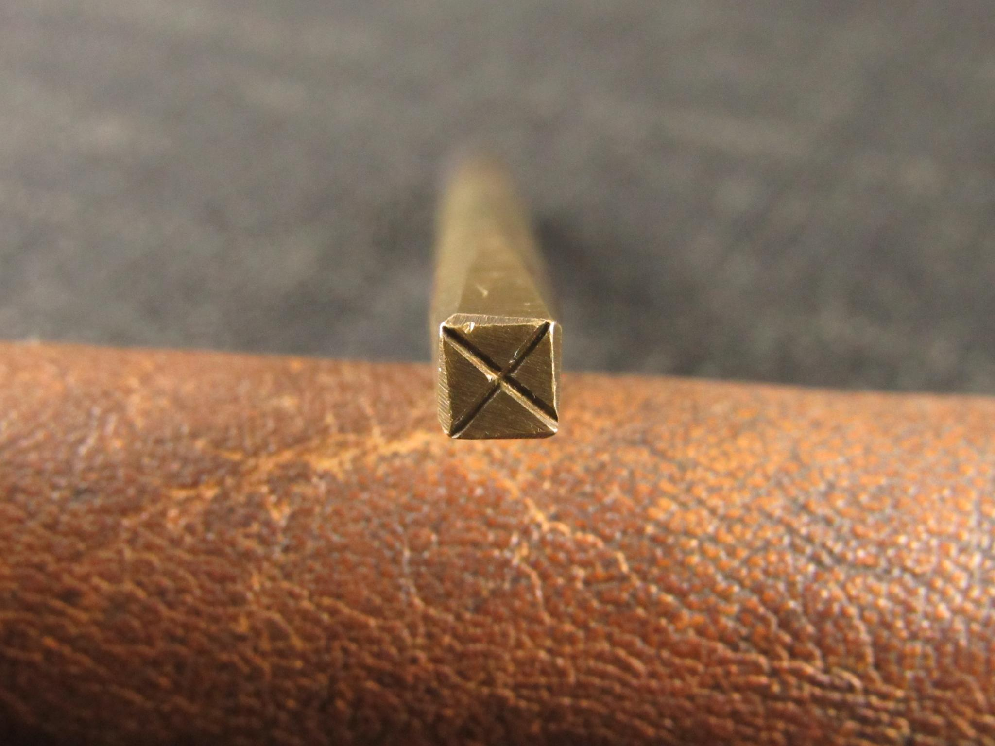 Vintage Brass Background Punch - No.2