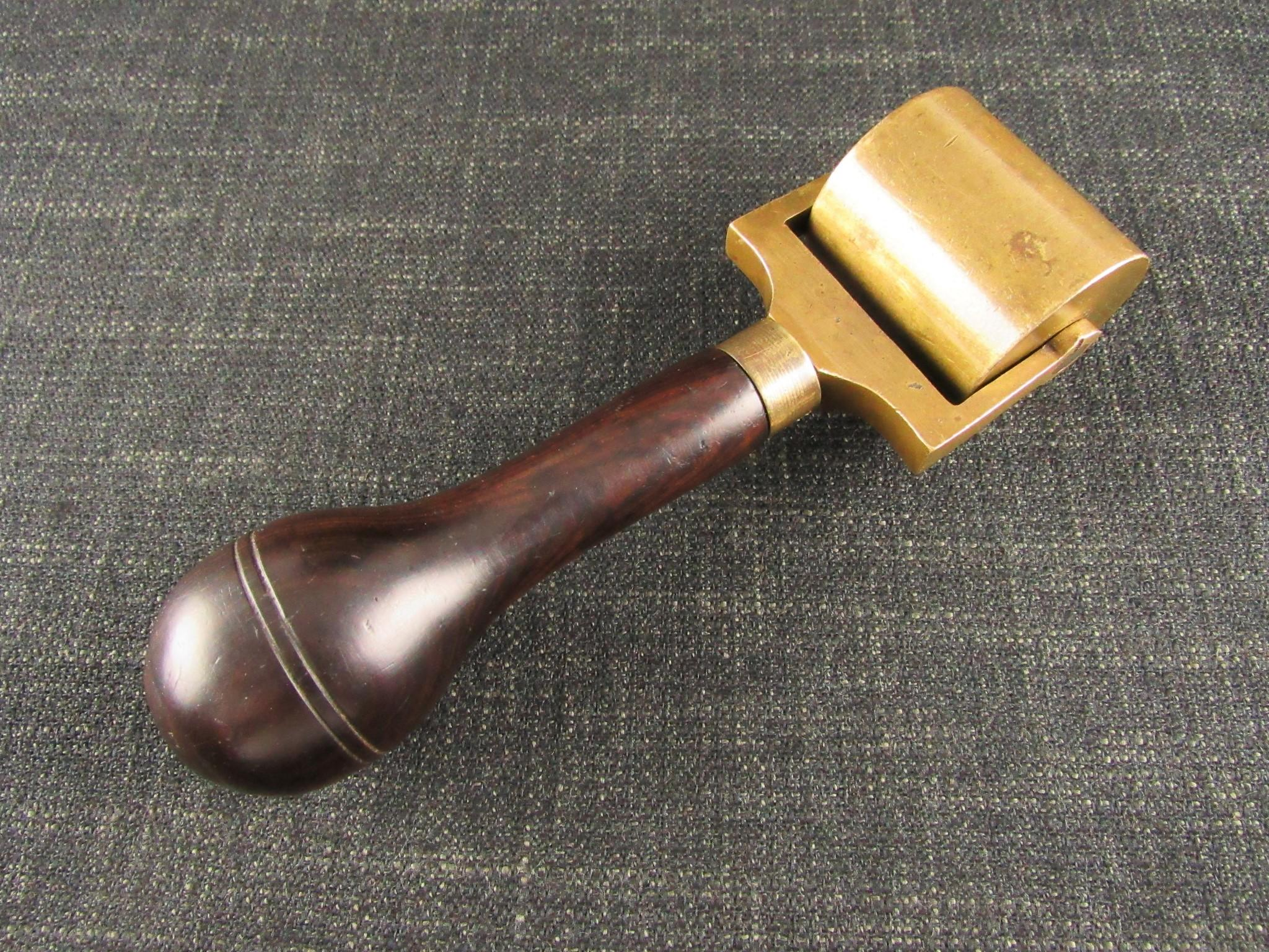 Antique Brass Roller