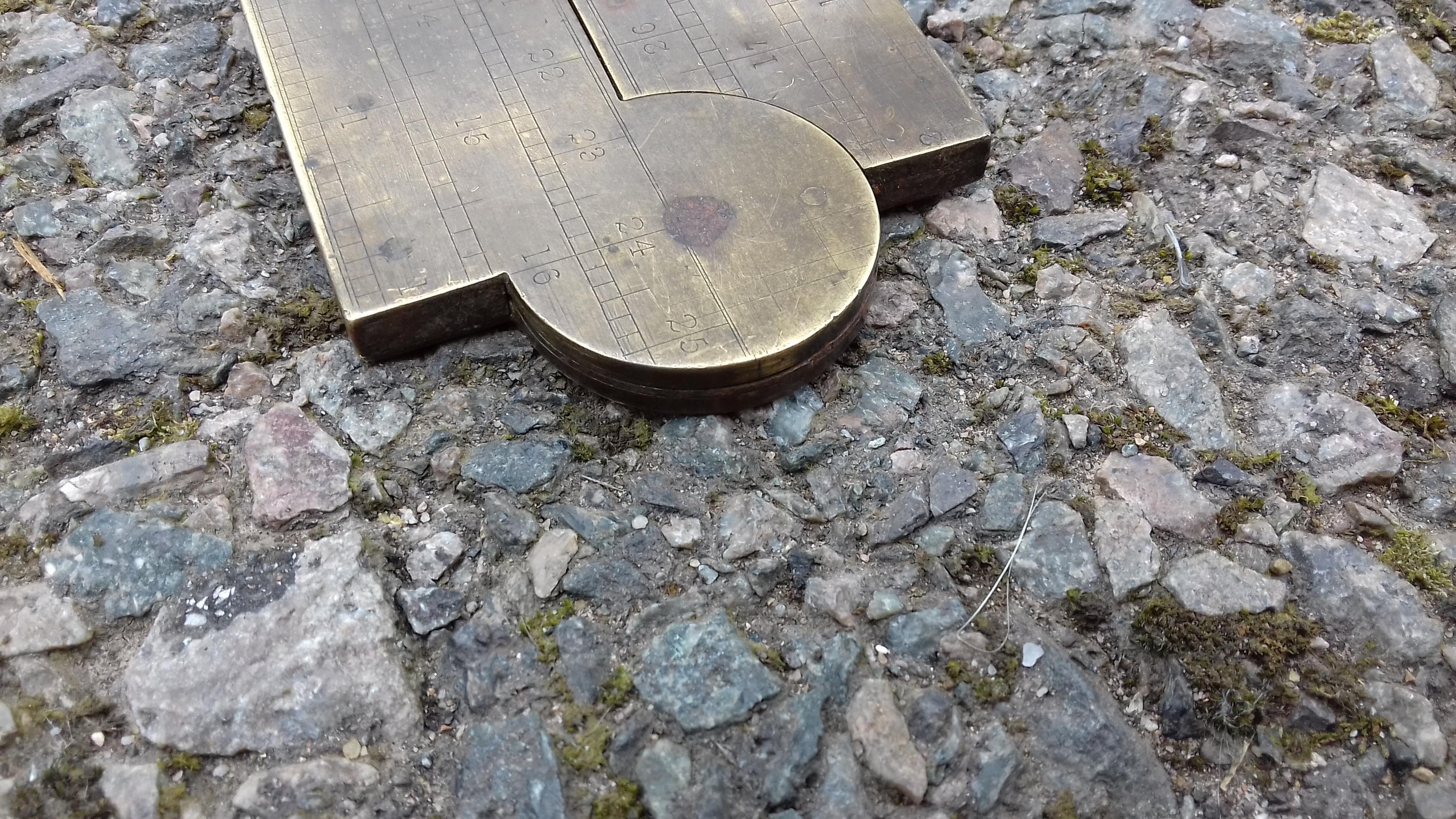 Oversize Boxwood Rule by FENN