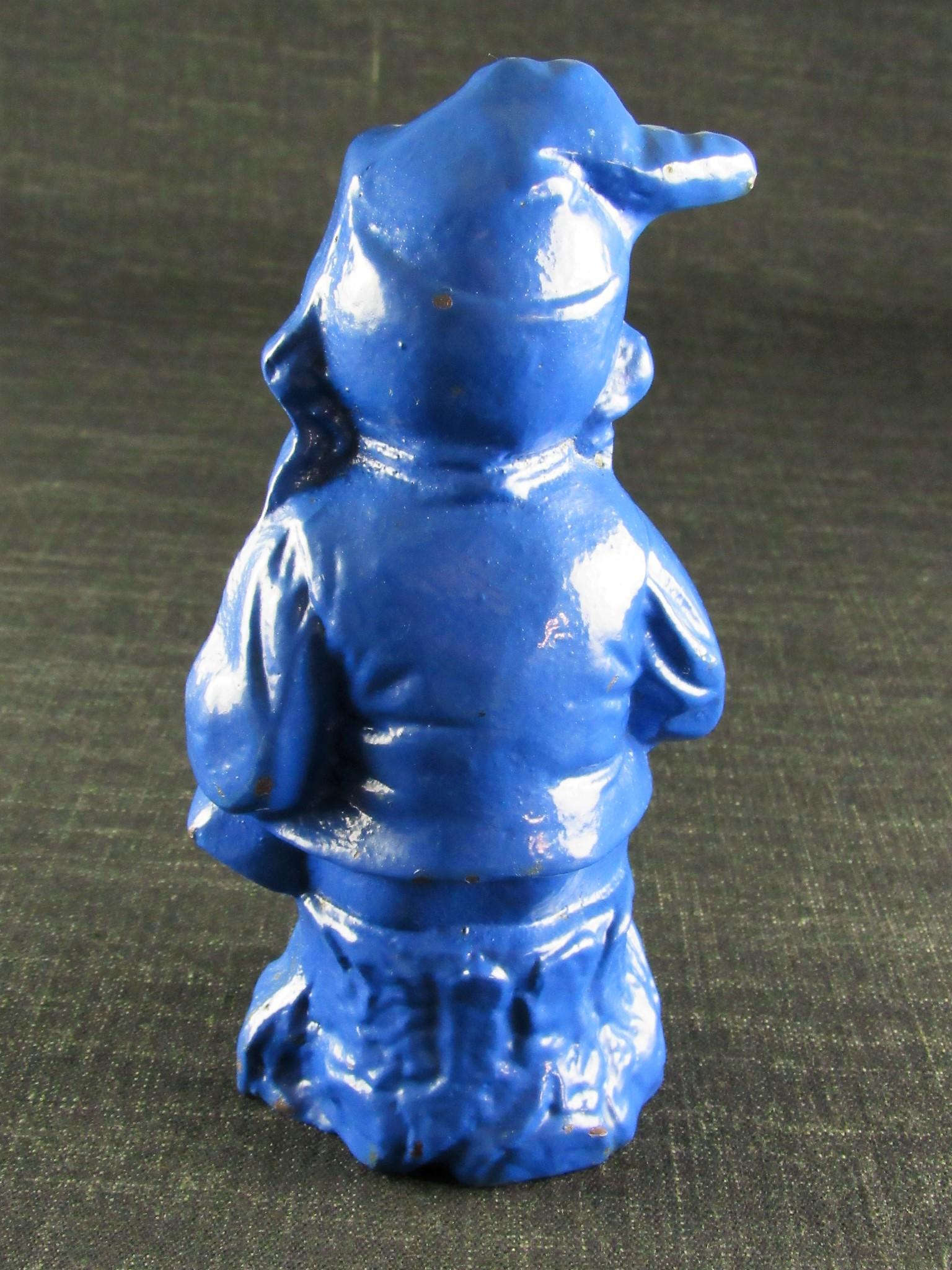 RECORD Bulldog Cast Iron Garden Gnome
