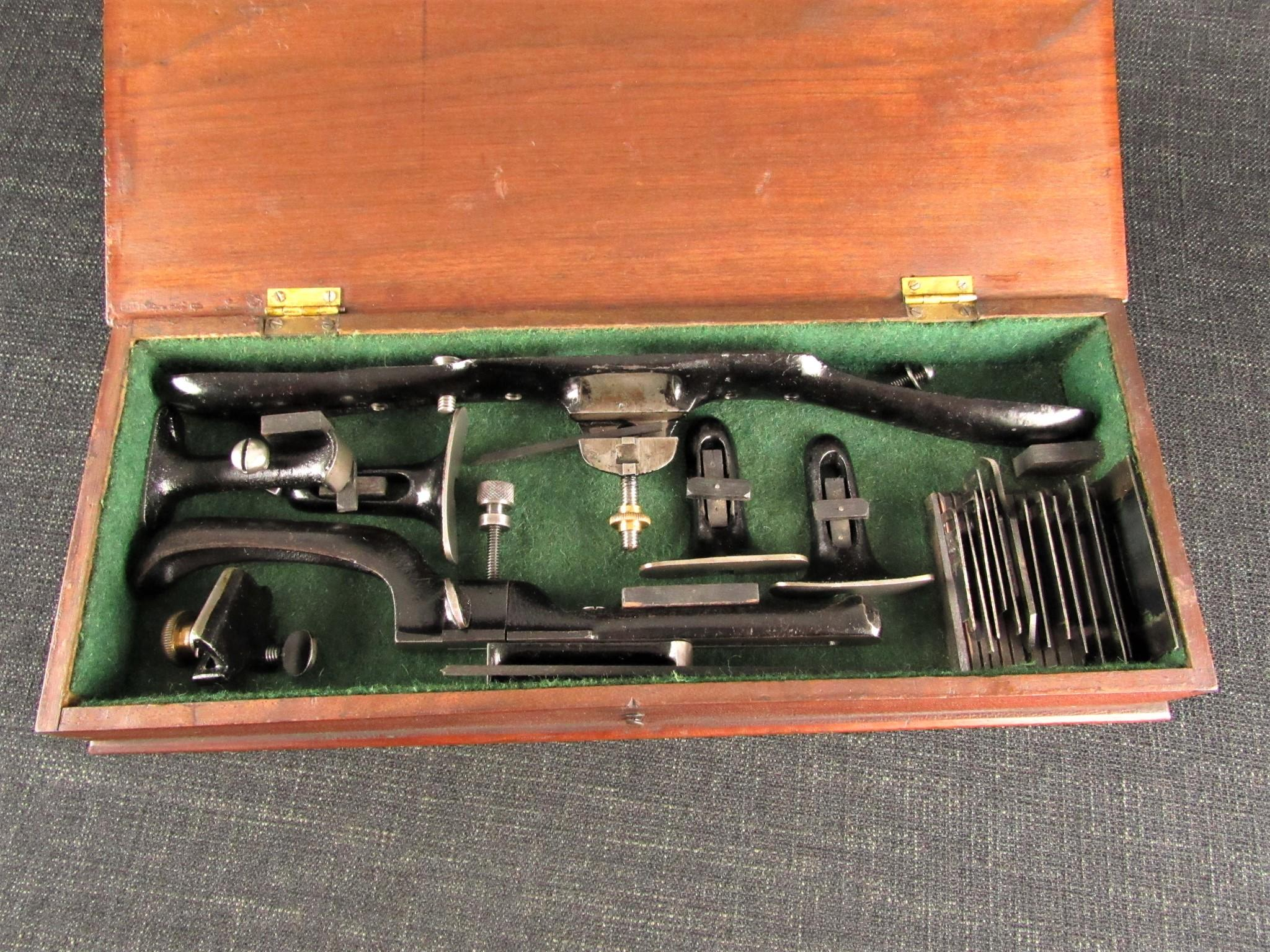 Rare PRESTON Patent Adjustable Tools
