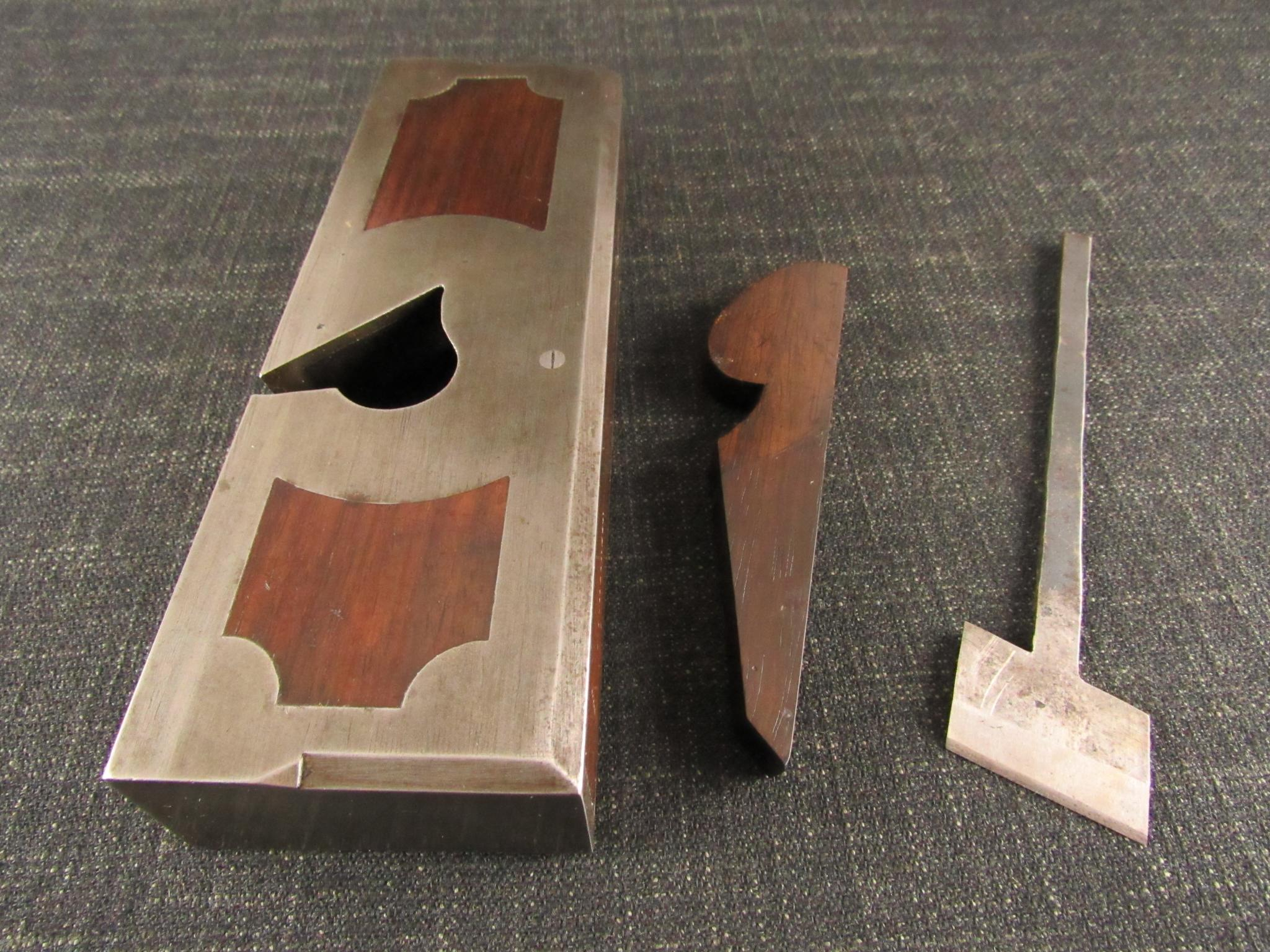 C BAYFIELD Skewed Rabbet Plane - Named